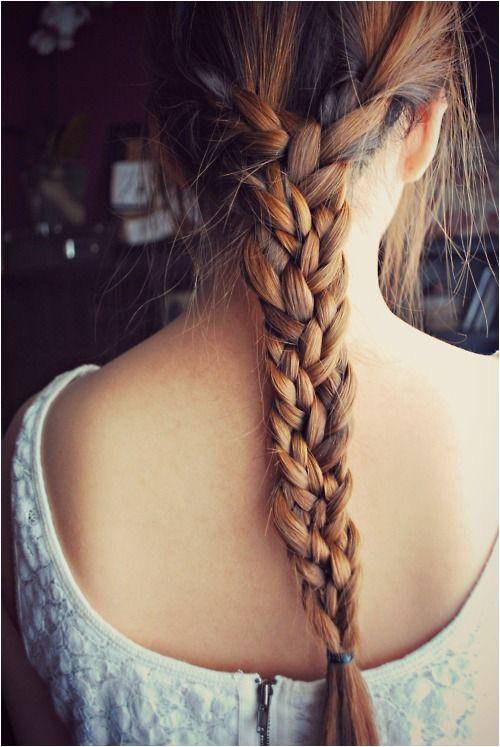 braids Tumblr hair Pinterest