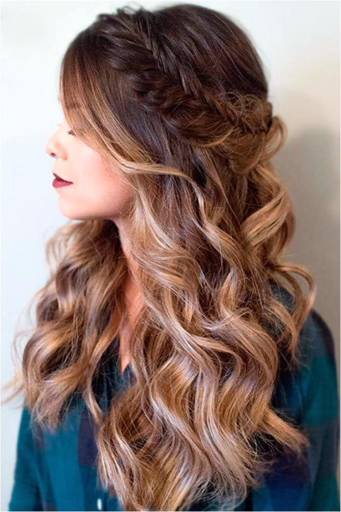 Easy long hairstyles are perfect for such a romantic holiday as Valentine s Day Save much time with our suggestions You will look lovely
