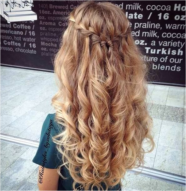 Hairstyles with Hair Down Easy 31 Gorgeous Half Up Half Down Hairstyles Hair Pinterest