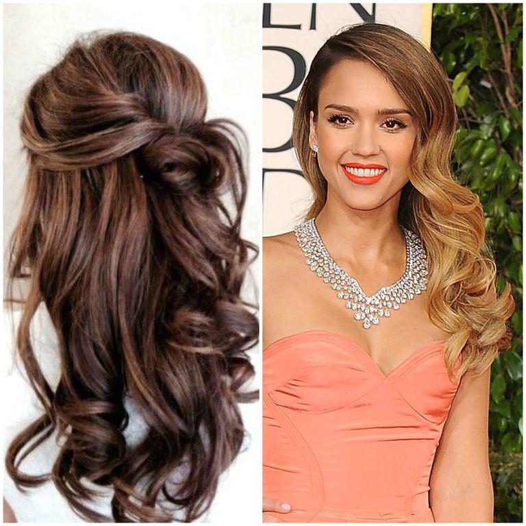 Long Wavy Prom Hair