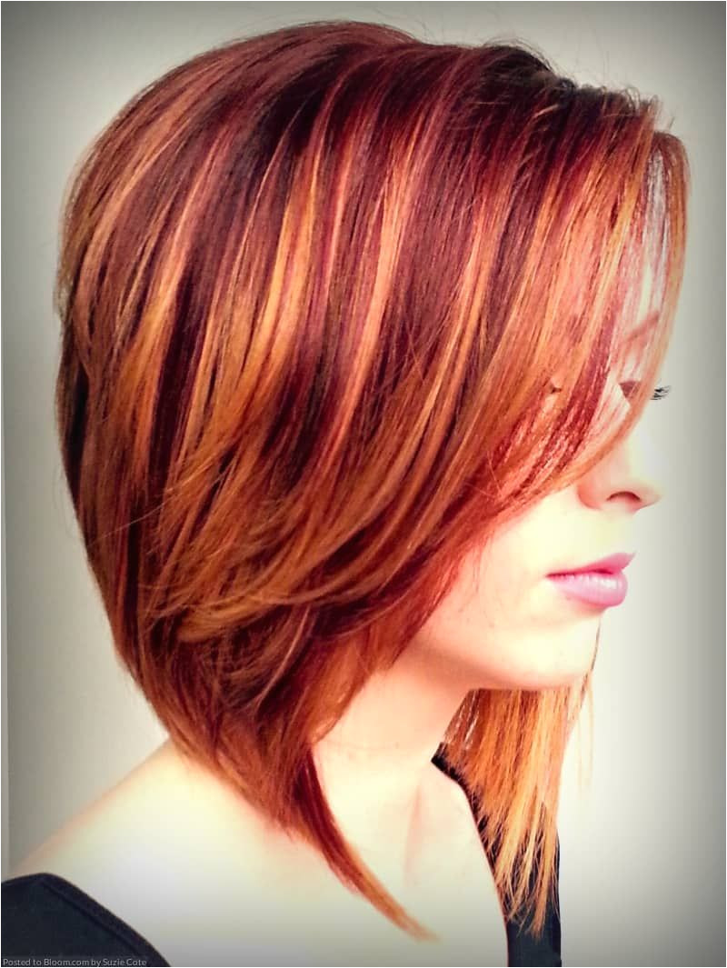 Short Haircuts With Highlights And Lowlights Auburn Hair 1