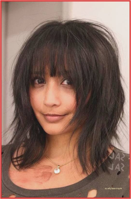 Short Shoulder Length Weave Hairstyles Luxury Spectacular Shoulder Length Hairstyles with Bangs 0d Mid Length