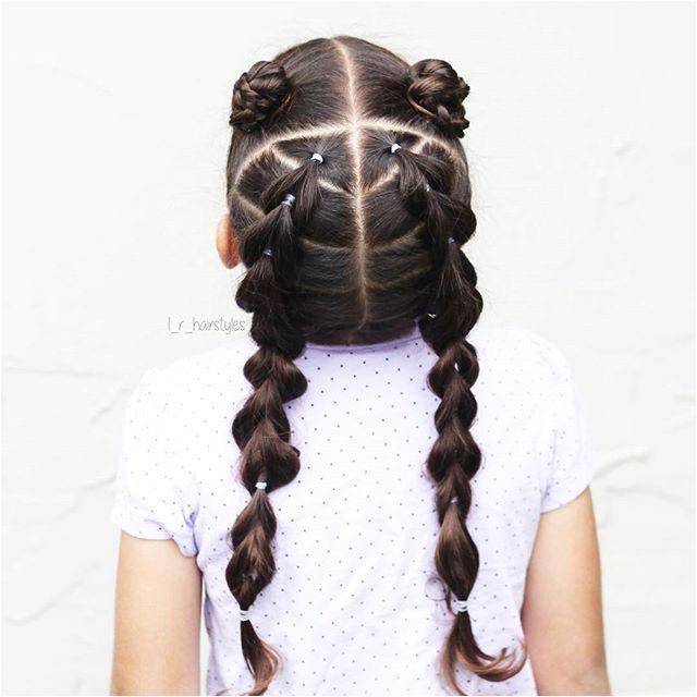 Ideas Braided Hair Braided Hairstyles Braids for Girls Braids for Little Girls Toddler Hairstyles Toddler Hair Ideas Braids Updos