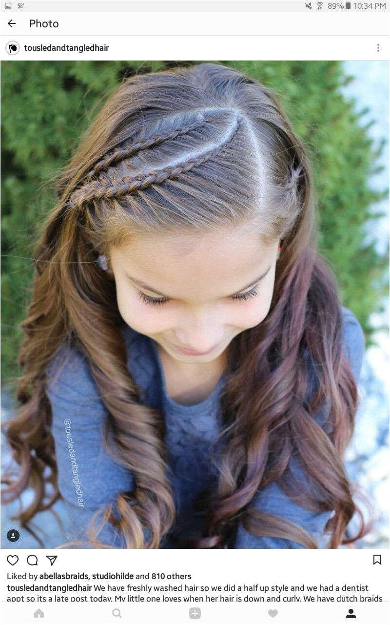 Half Up Hairstyles for toddlers Peinados Kid Hair Styles Pinterest