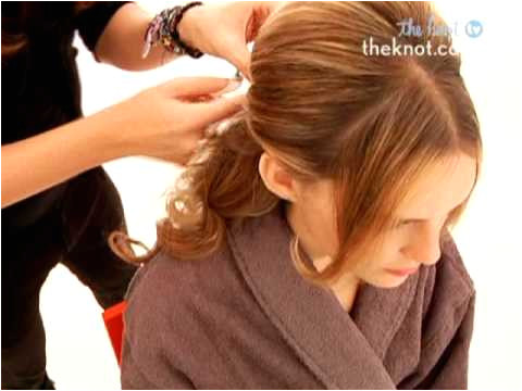 How to Create a Half Up Half Down Wedding Day Hairstyle The Knot