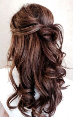 The Hair Color Inspo You ve Been Looking For Wedding Hairstyles Half Up Half DownHalf