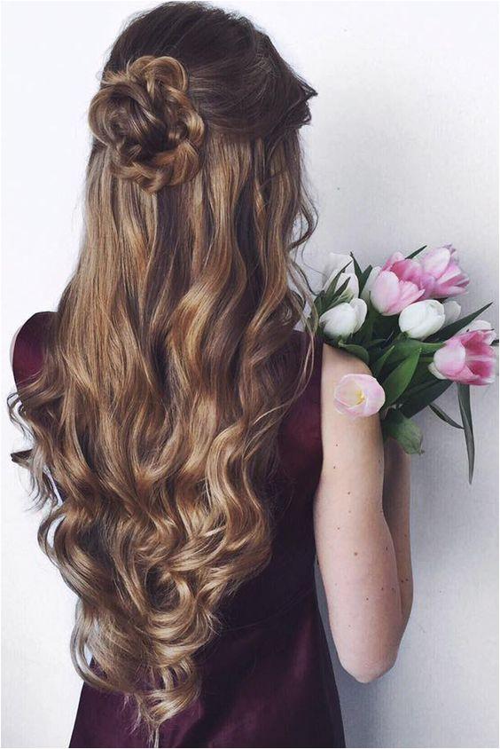 "Hairstyles · Half Up Half Down Prom Hair Pin Od Pou…¾vate""¾a Kalley"