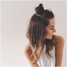 Cute half up top knot half up top bun Hair Day Girl Hair