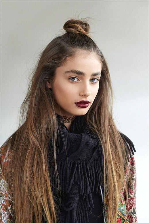 Le Fashion 19 WAYS TO WEAR A HALF UP TOP KNOT