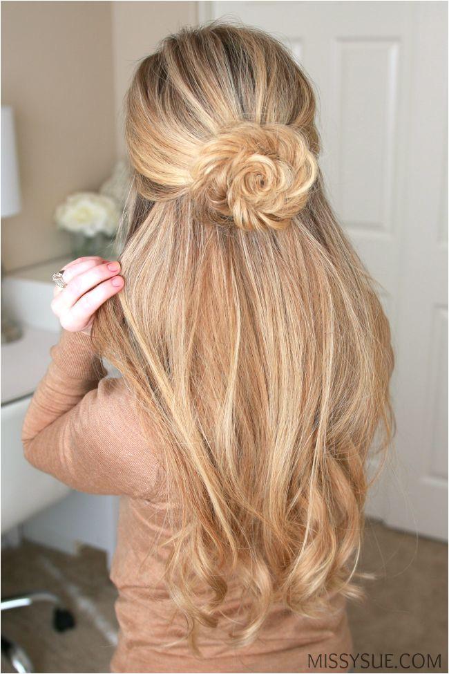 flower braid Braid Flower Hair Up Hairstyles Hair Styles Fishtail Braided Hairstyles Tutorials