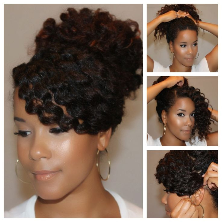 10 Fancy Natural Hairstyles For The Holiday Party Season