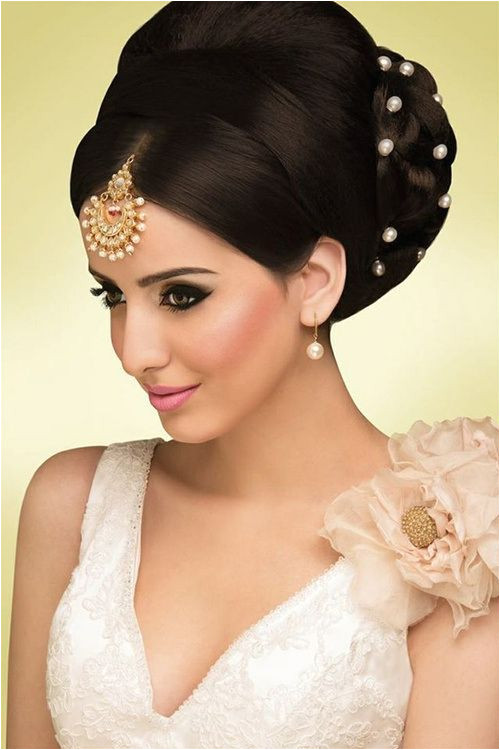 Indian bridal updo Wedding Hairstyles For Women Long Hair Hairstyles Indian Wedding Hairstyles