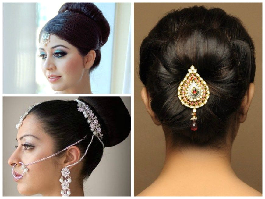 Indian Wedding Hairstyles For Medium Hair Step By Step