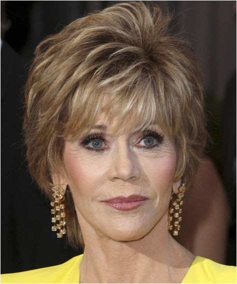 Jane Fonda s Short Haircuts for Women Over 50