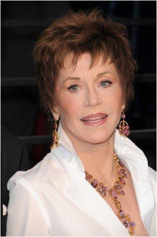 Jane Fonda pixie hairstyle