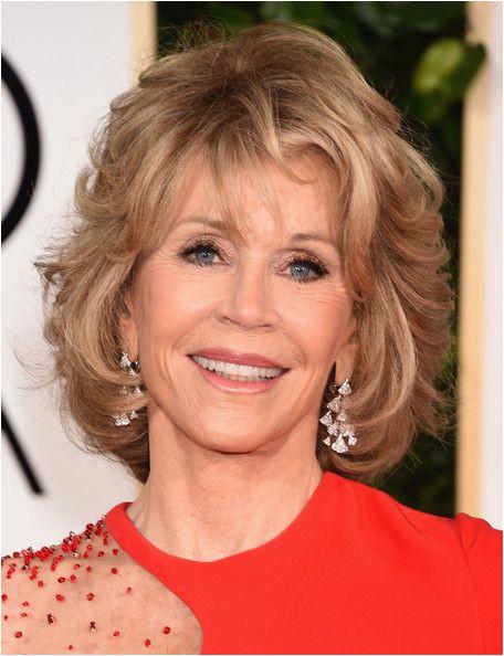 Jane Fonda Golden Globes Jane Fonda Short Hairstyles for Women Over 60 Jane Fonda Shag Haircut