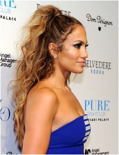 Jlo Ombré Hair Prom Hair Long Curly Hairstyles Curly Hair Ponytail High
