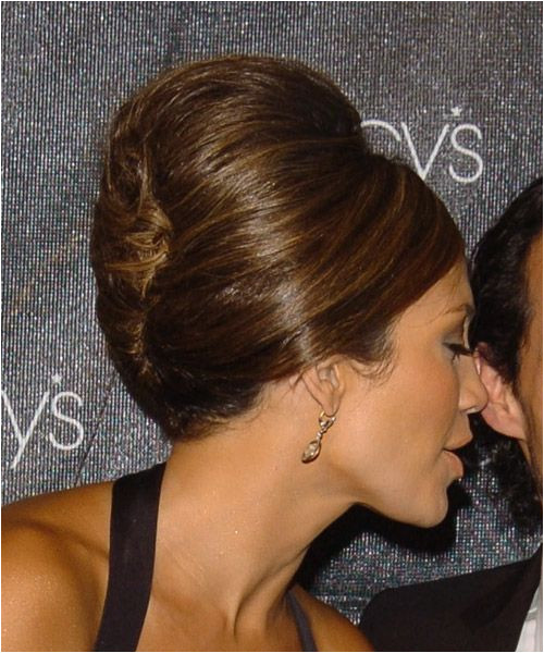 Jlo french roll side view graduation hair maybe