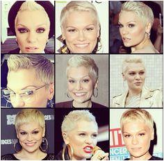 Jessie J love her hair like this