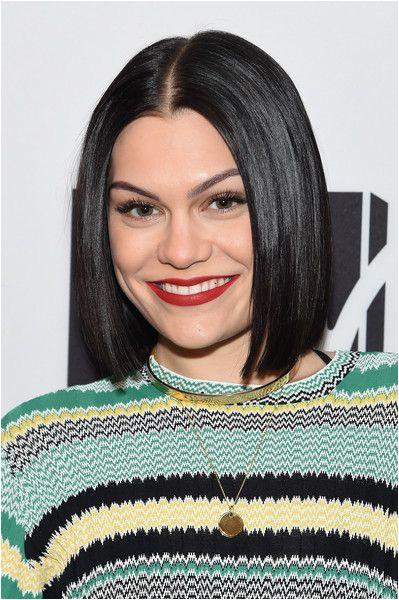 Jessie J 2019 Hairstyles Jessie J S Sleek Bob In 2019 Short Hairstyles Pinterest