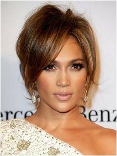 Jennifer Lopez Hair updo and make up