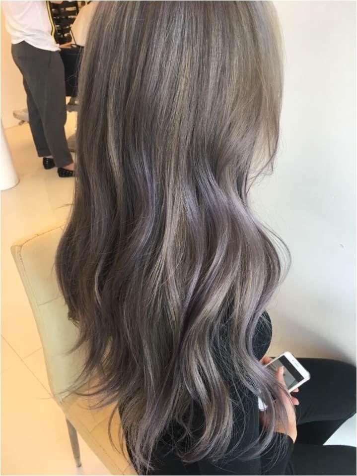 2017 hair color trend lavender ash korean kpop idol hairstyles for girls kpopstuff