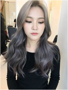 korea korean kpop idol actress 2017 hair color trend for winter fall lavender ash brown hairstyles