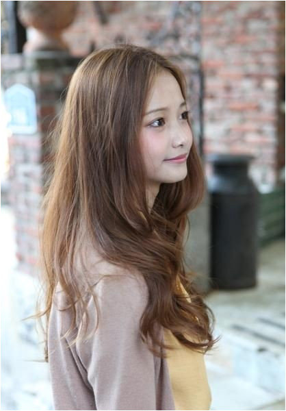 Korean Hairstyle For Girls Fresh Long Korean Hair Style 2013 Random Pinterest