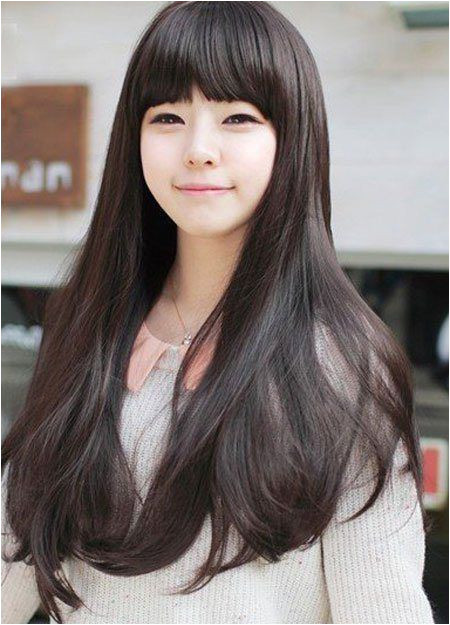 Korean Long Straight Hairstyles Pin by Khea Khe On Korean Hair Style In 2018 Pinterest