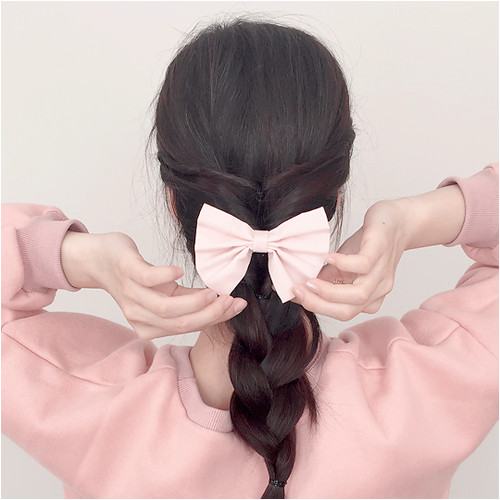 hair style and korean image