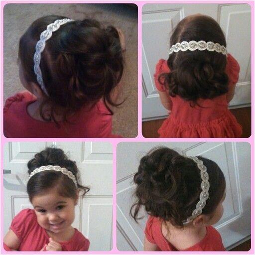 Flower girl hair Little Girl Wedding Hairstyles Hairdo Wedding Flower Girl Hairstyles Flower