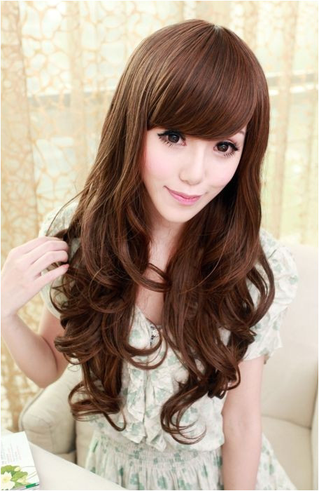 Hairstyles New Korean Girl Hairstyles With Long Hair