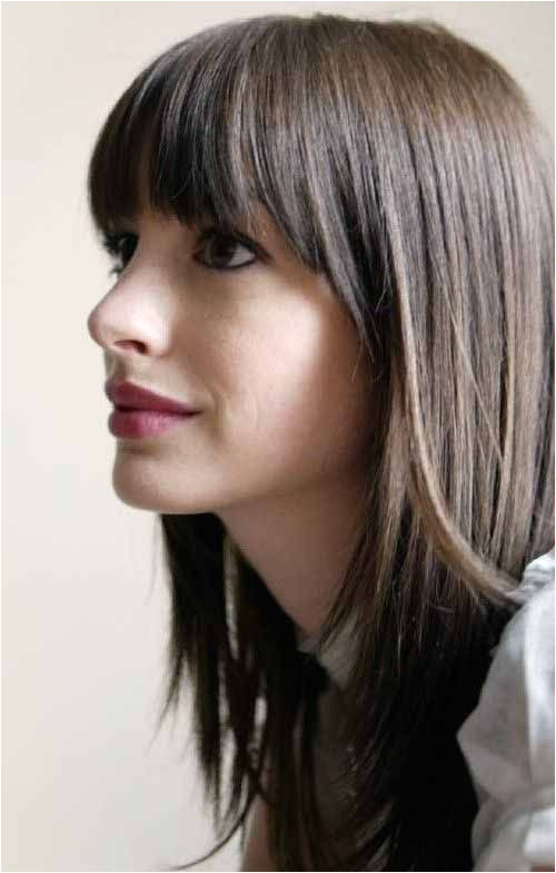 5 lovely Long Layered Hairstyles With Bangs for 2019 Have a look Hair Pinterest