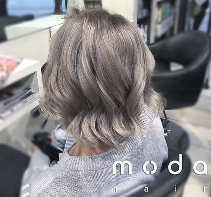 Haircuts & Hairstyles for Women Over 50 Shoulder Length Grey Hair