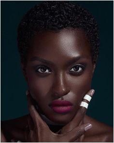 African Makeup African Beauty Dark Skin Girls Black Girl Magic Beautiful Black