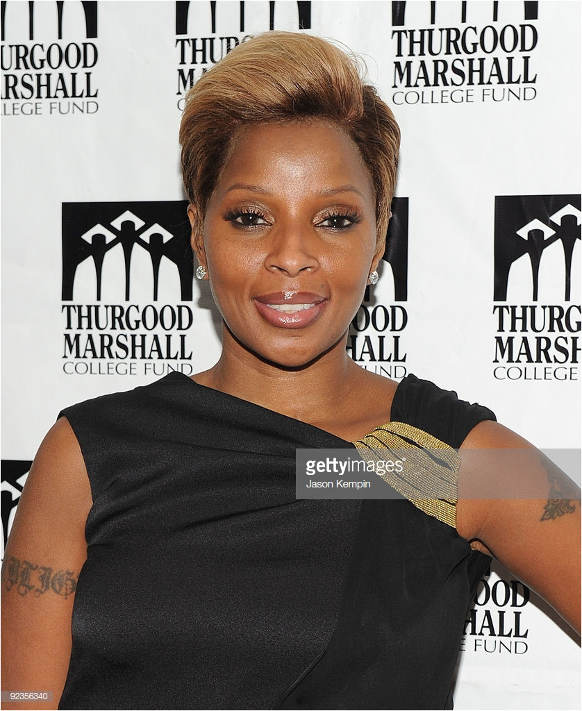 Recording artist Mary J Blige attends the Thurgood Marshall College Fund s 22nd anniversary celebration at