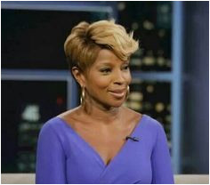 Mary J Blige enough said · Short weave hairstylesShort