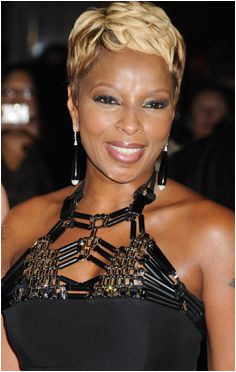 Mary J Blige My mother in my head Short Hair StylesShort
