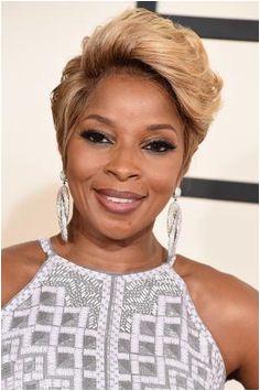 2015 Grammys Gallery of Black Celeb Hairstyles Mary J Blige Blonde