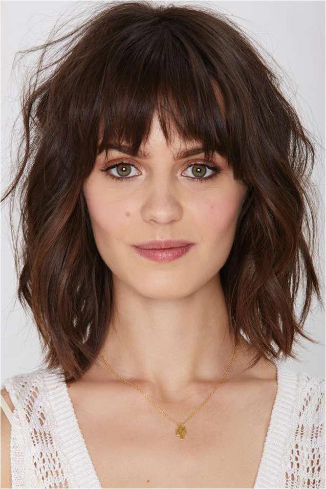 Medium Hairstyles Bangs 2019 43 Superb Medium Length Hairstyles for An Amazing Look