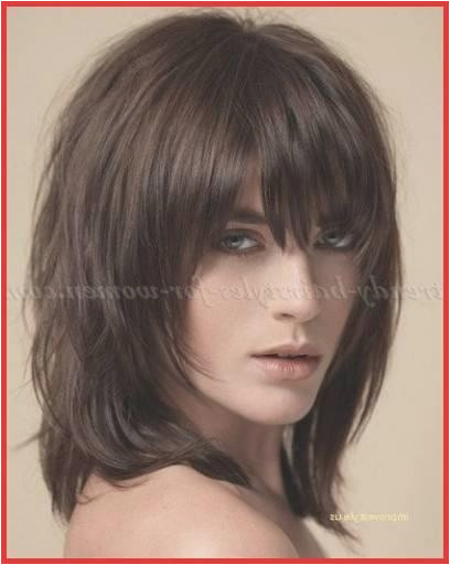 2019 Hair Cuts with Layers Best Medium Hairstyle Bangs Shoulder