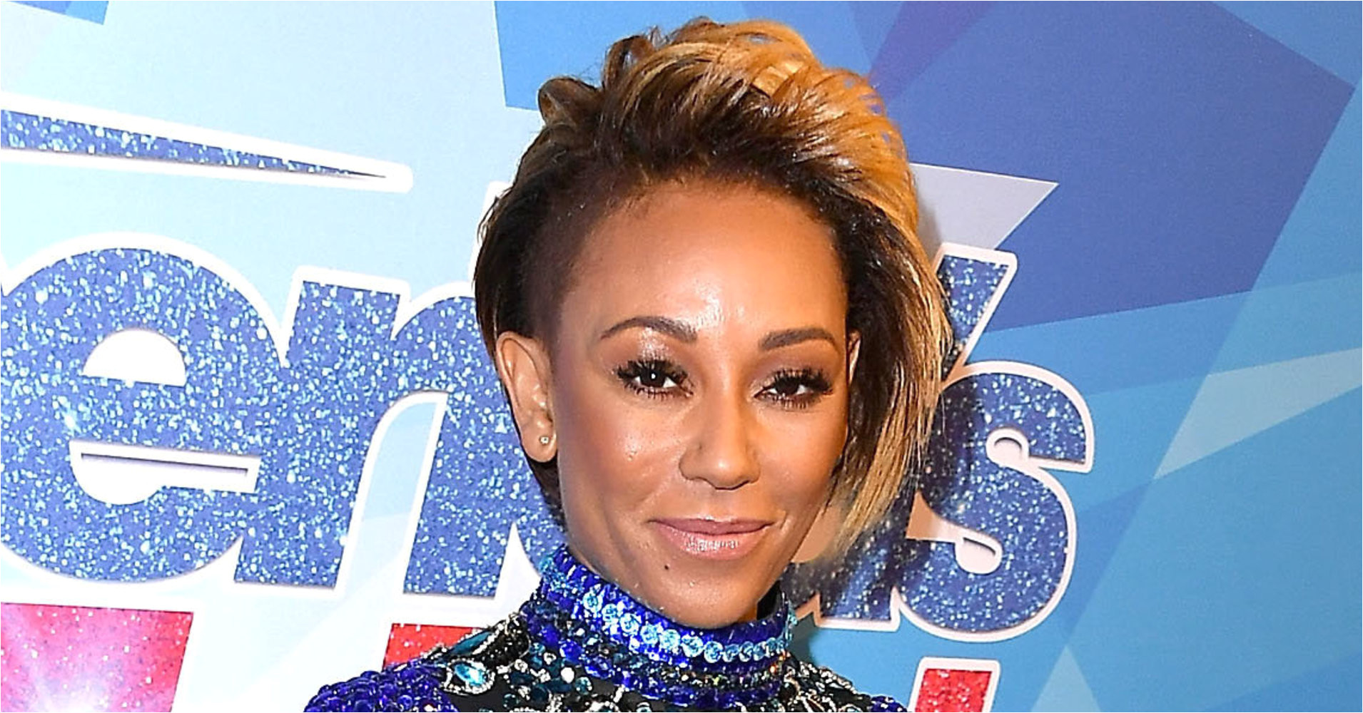 Mel B s Bodysuit From America s Got Talent Leaves Little To The Imagination