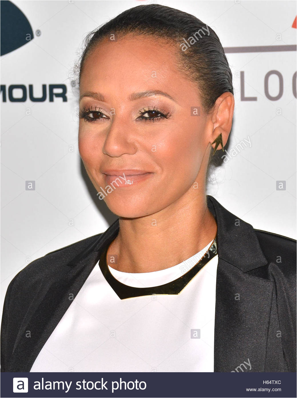 Mel B arrives at the First Annual Sports Humanitarian of the Year Awards Presented by