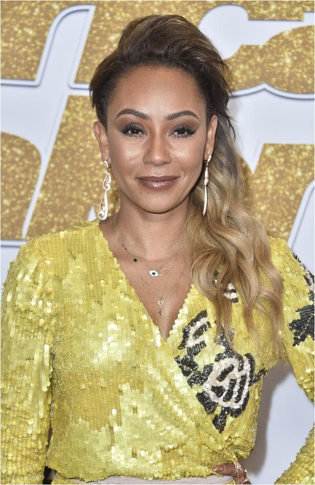 Mel B pictured before an America s Got Talent taping in Hollywood this week Picture