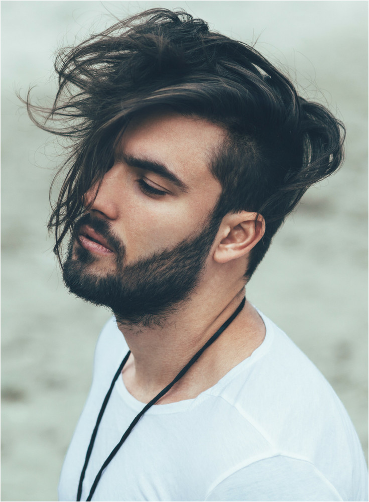 Long mens hairstyle 2017 33 of the tren st and best men s hairstyles and haircuts Includes short medium long mixed curly undercut sidepart