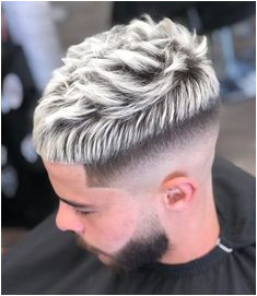 A favorite in Jacksonville Florida Blonde highlights for men with a