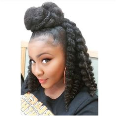 Easy natural hair protective hair styling for natural on African Americans Down Hairstyles Black