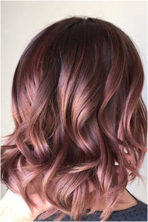 Chocolate Mauve Gorgeous Hair Colors That Will Be Huge in 2017