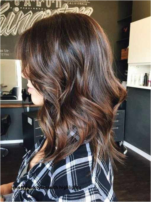 Highlights Hairstyles Lovely Short Hairstyles with Highlights Brunette Hair Color Trends 0d