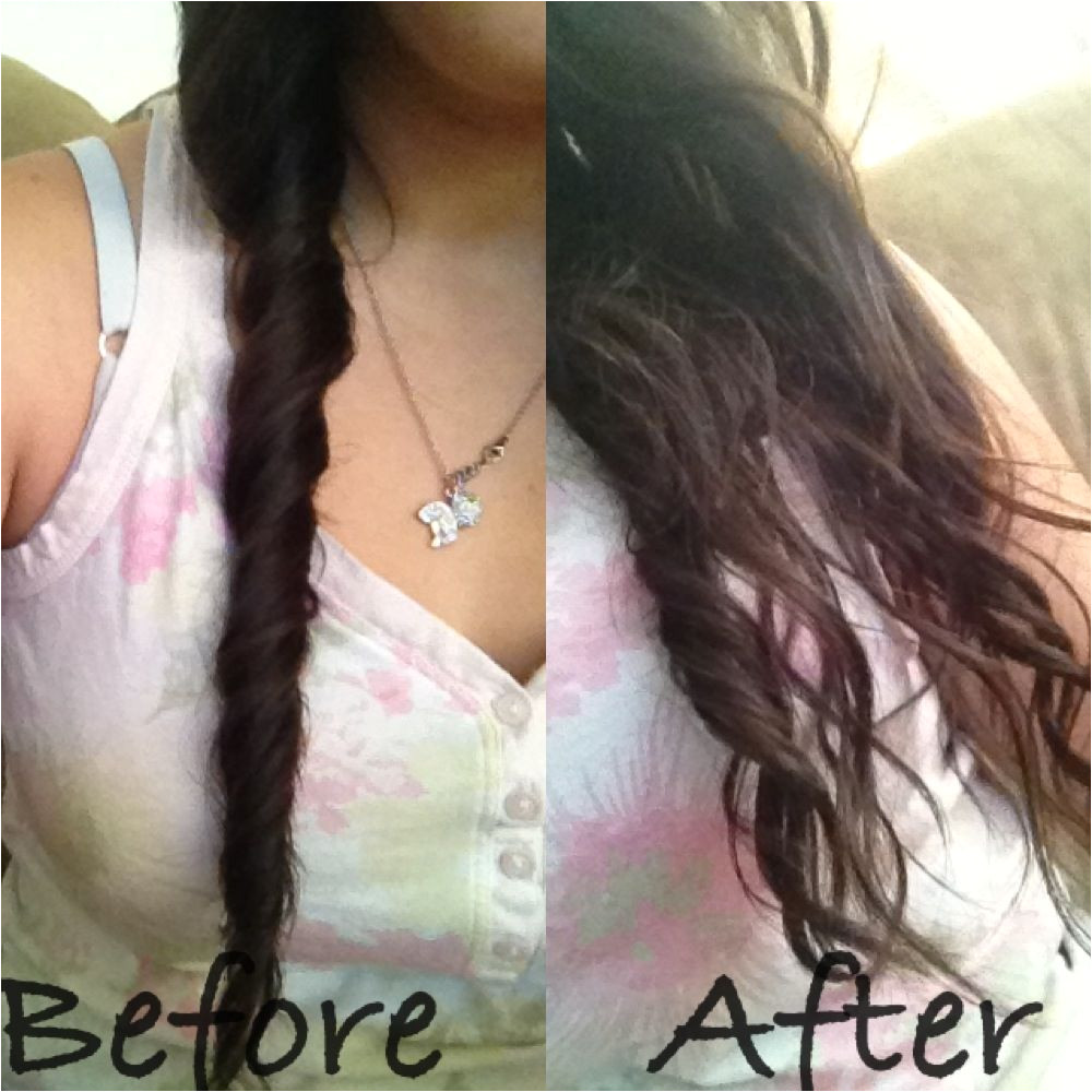 Just twist after shower wait to dry and instant heatless curls